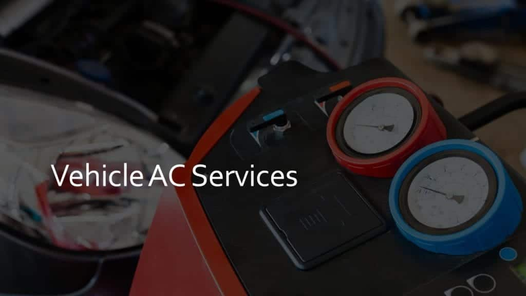 Vehicle AC Services