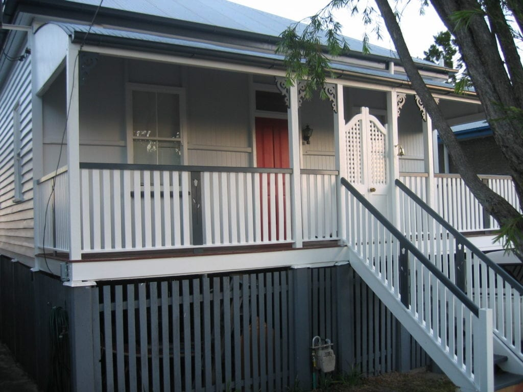 queenslander after renovation in brisbane