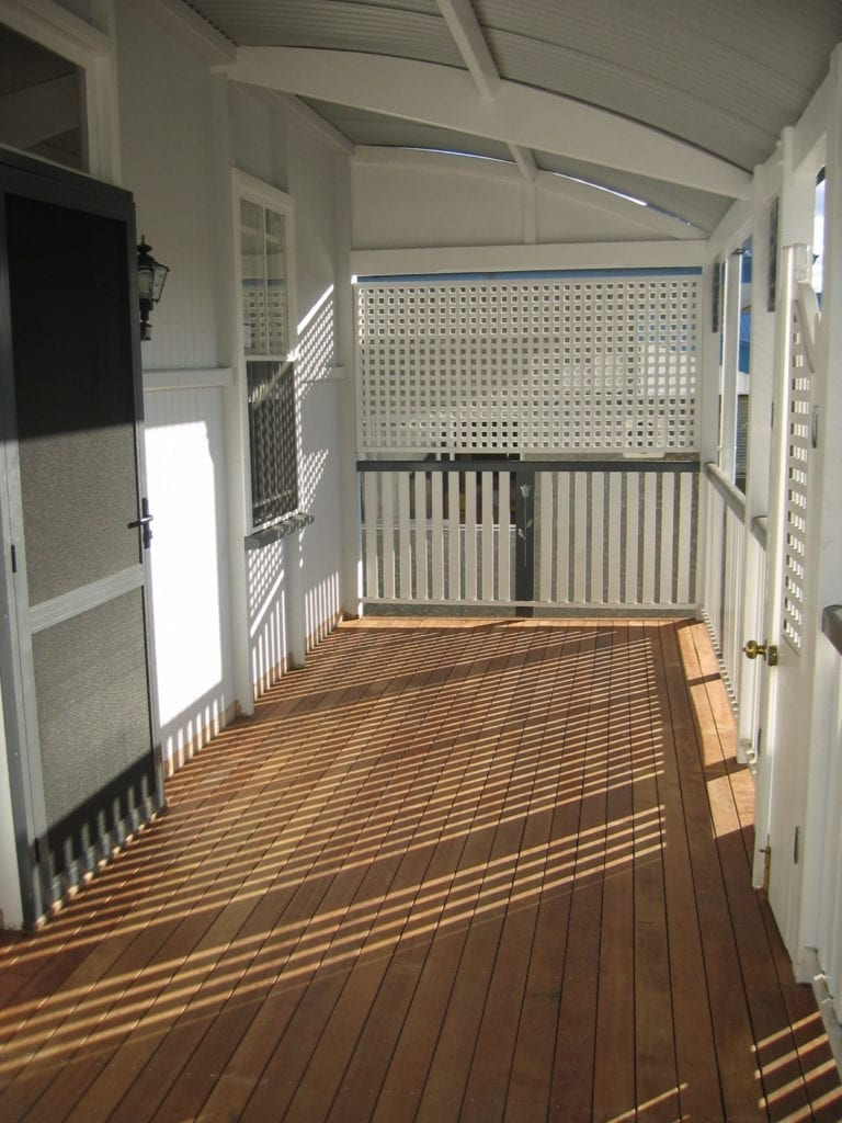 New deck on brisbane home