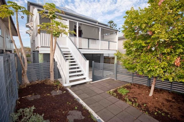 front of renovated home with landscaping in brisbane