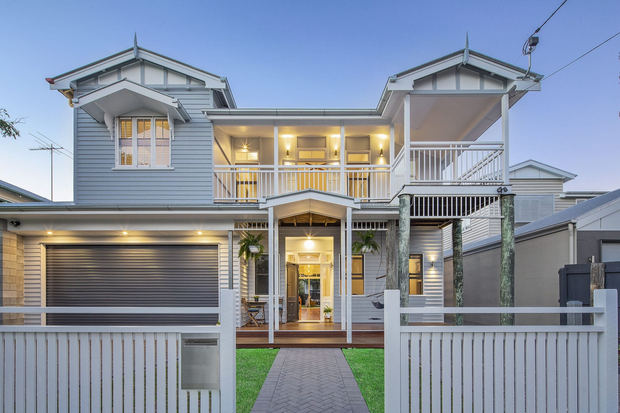 large raised queenslander in brisbane after renovation