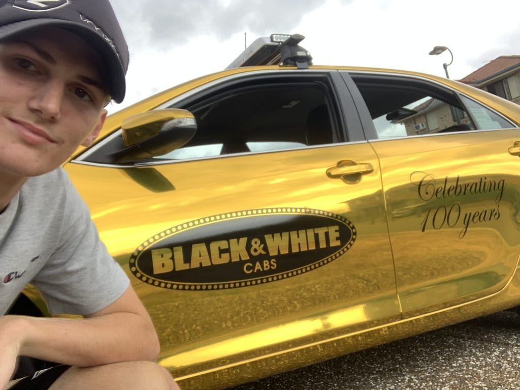 Black & White Cabs Good as Gold Young Man