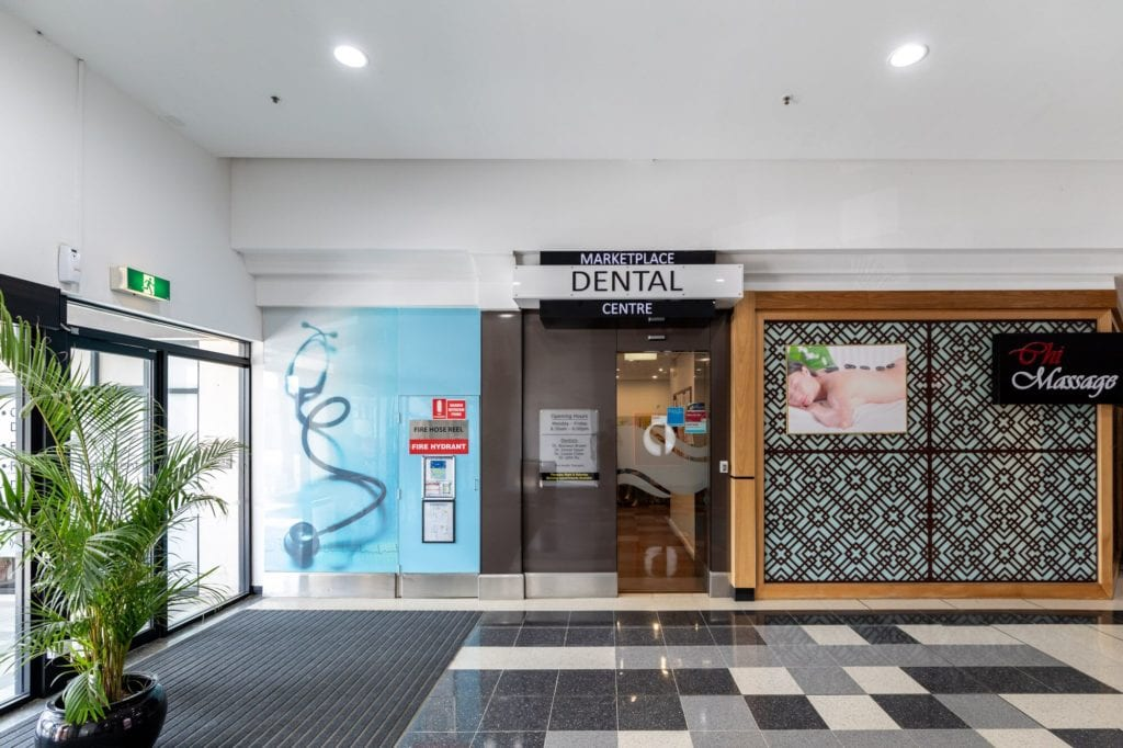 Marketplace Dental Shop front in Wagga