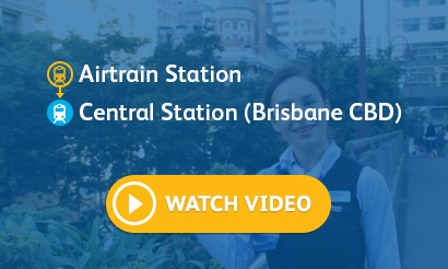 Airtrain Station – Central Station (Brisbane CBD)