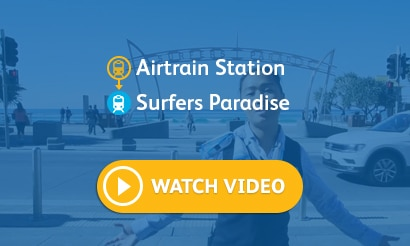 Airtrain Station – Surfers Paradise