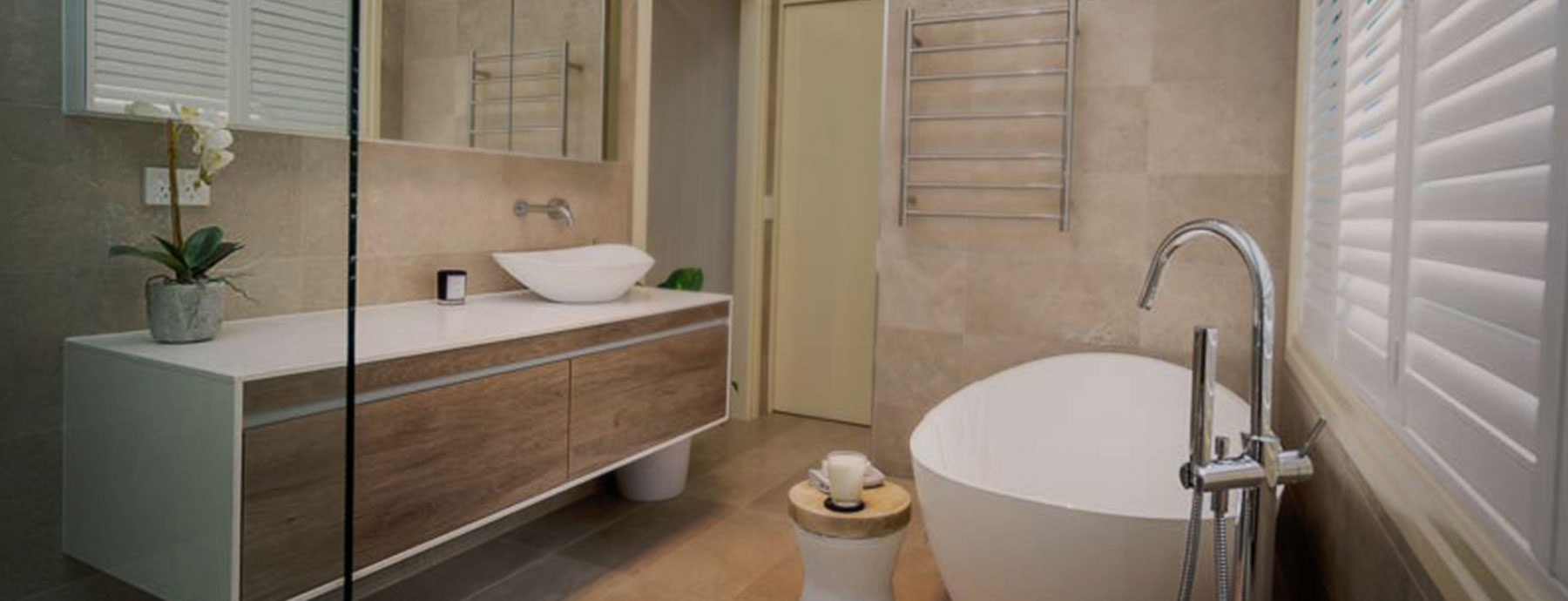 KBDi 2019 Qld Bathroom Awards Finalist Large Bathroom