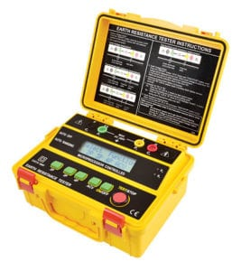 4 Wire Earth Resistance Tester