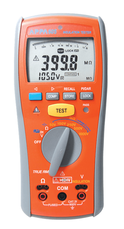 Appa Insulation Tester and Multimeter