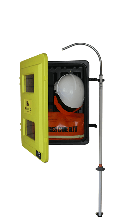 HV Wall Mounted Rescue and Operators Kit