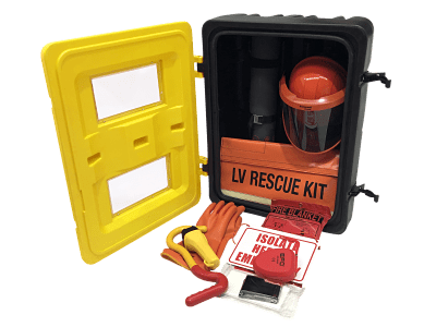 LV Wall Mounted Rescue and Operators Kit