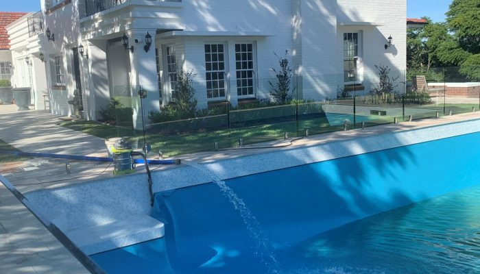 Block Pool with Acqua Di Lusso Light Blue
