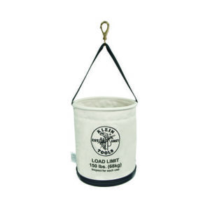 Canvas Pole bucket bag