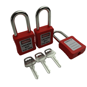Lockout Tagout Padlocks Set 3