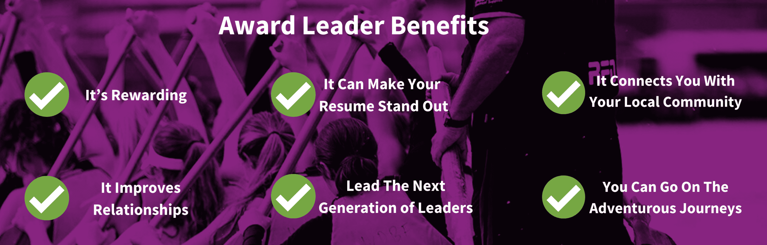 Benefits For Award Leaders