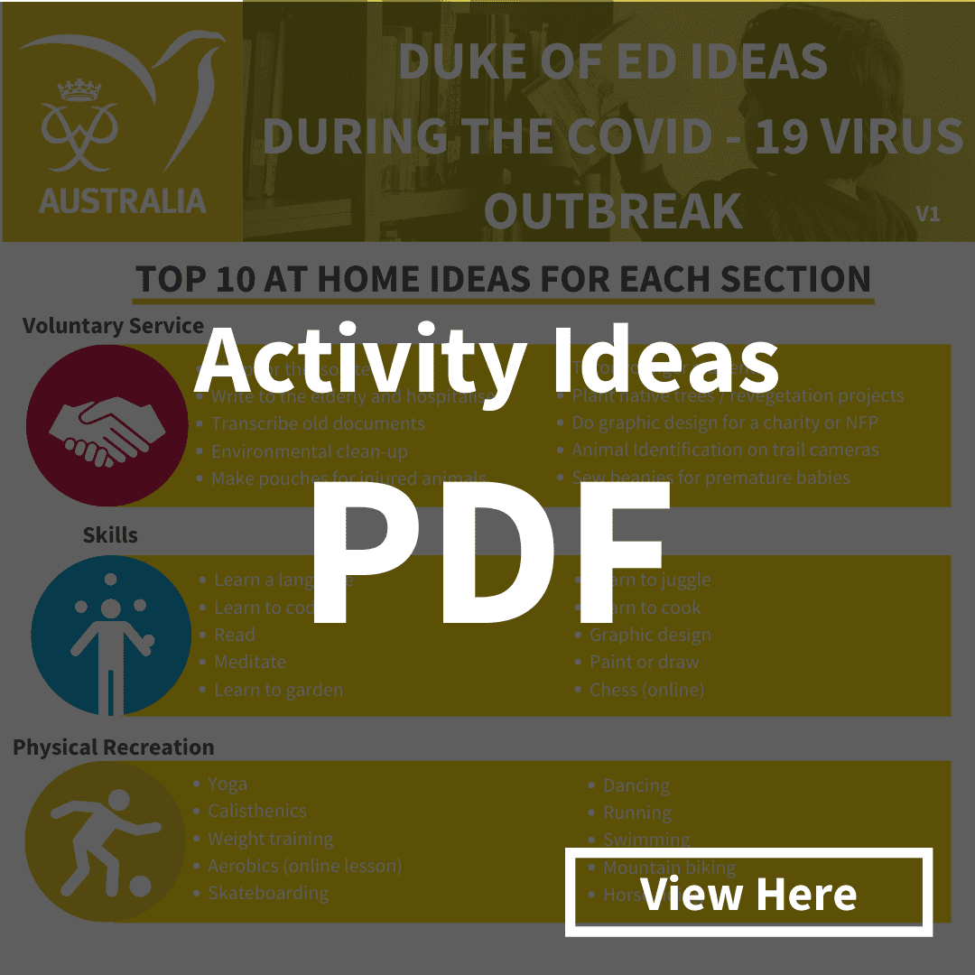 Click here to view and download the Activity Ideas PDF