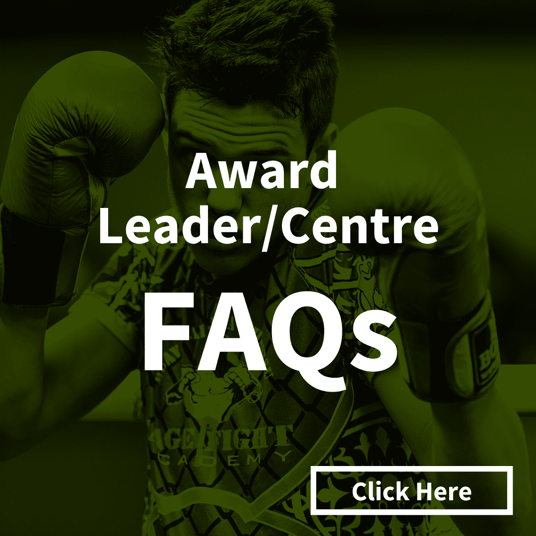 Click here for Award Leader and Award Centre FAQs