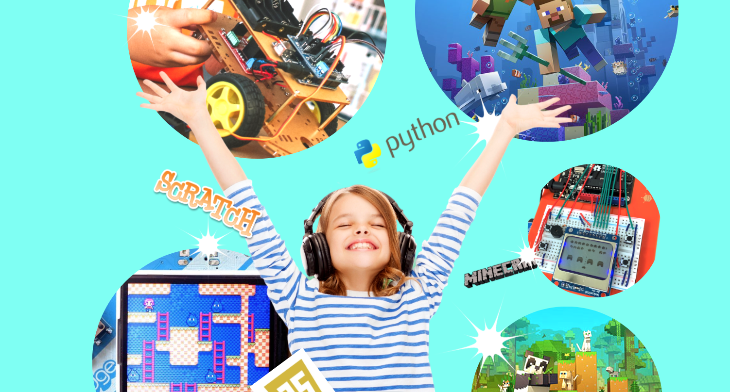 Junior Engineers coding and robotics for kids python classes stem for children after school holidays